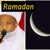 Ramadan: See The Day The Sultan Of Sokoto Said Nigerian MUSLIMS Should Look Out For The Moon