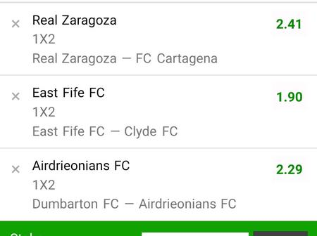 Place These Six Games With 100 Bob To Win Good Money Today