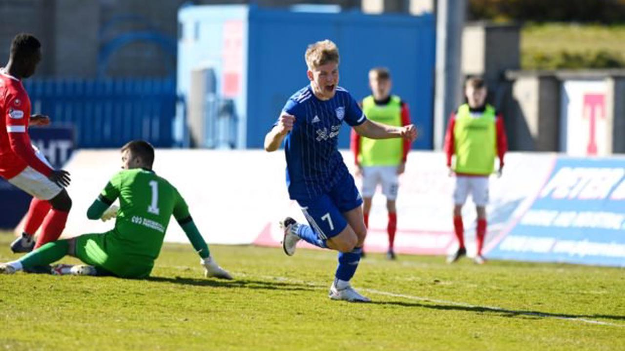 Jim McInally's delight after Peterhead land Hamish Ritchie on permanent deal from Inverurie