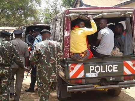 5 KDF Soldiers Arrested in Kisumu For Breaching Covid-19 Containment Orders