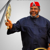Here is how Yul Edochie, his wife and others celebrated Pete Edochie on his 74th birthday today