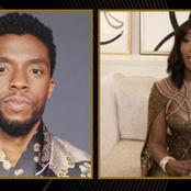 Chadwick Boseman's widow's emotional speech for his posthumous Golden Globe