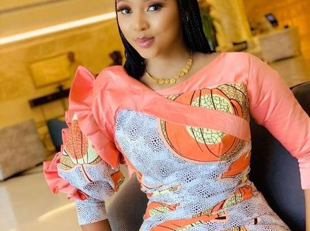 Hausa latest Ankara dress styles to make your upcoming occasions colorful and interesting