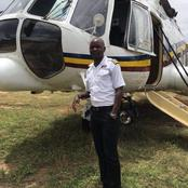 Meet Kiplangat: From Milking Cows To Captain Of National Police Service Air Wing