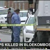 Two policeman killed in the Western Cape.