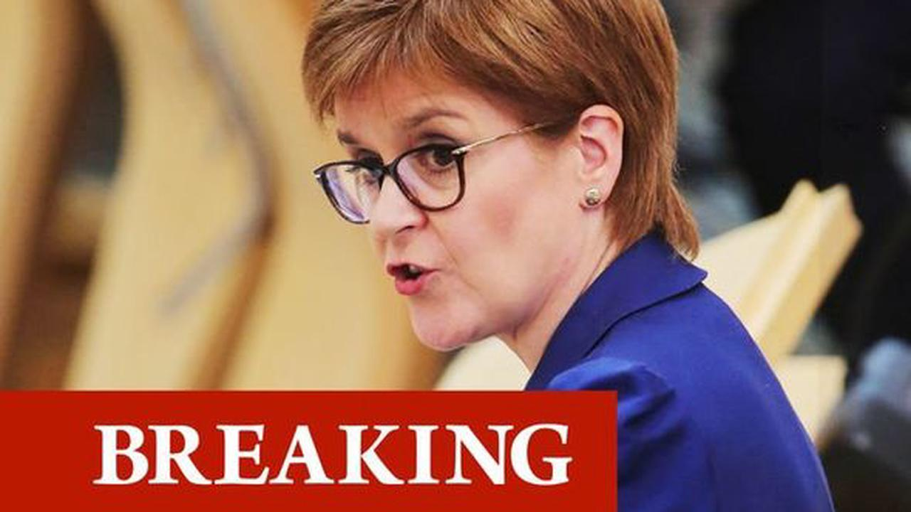 Total lockdown RETURNS: Sturgeon to plunge Scotland into March-style covid restrictions