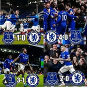 Everton Could Win Chelsea In Stamford Bridge On 8th March, See Their Last Six Fixtures
