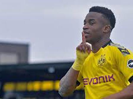 Pictures of Borussia Dortmund's 15-yr-old who has scored 13 goals in 4 appearances this season.