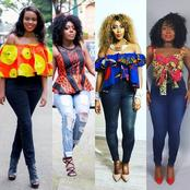 Stylish Off-Shoulder Ankara Styles For Ladies