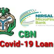 How To Apply For CBN Covid-19 Loan