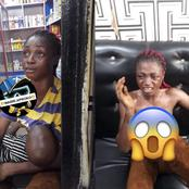 See What Happened After A Nursing Mother Was Caught Trying To Steal A Weavon Worth ₦200,000 (Photos)