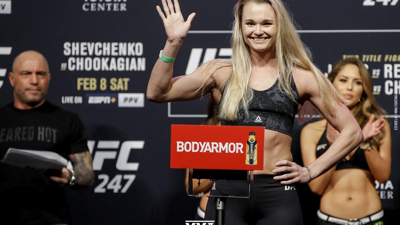 UFC 257 results: Joanne Calderwood wins clinch war over Jessica Eye
