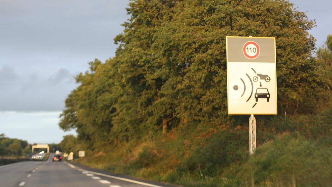 Morbihan : entre Vannes et Lorient, reçu 3 sur 4 pour les radars de la RN165