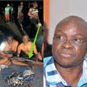 Fayose taken away as Hoodlums attack PDP zonal Congress in Osun State