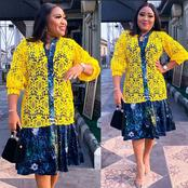 Adorable Gowns For Matured African Ladies