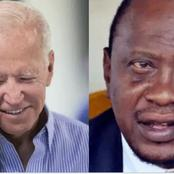What Kenyans Said After Joe Biden Called Uhuru Kenyatta