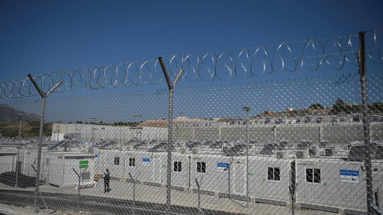 "Neues ""geschlossenes"" Flüchtlingslager auf griechischer Insel Samos eröffnet"