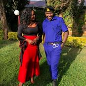 Comedian Alex Mathenge In Real Life, Wife And Children (Photos)
