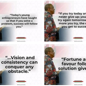 Uhuru's Mentoring Quotes on Youths'