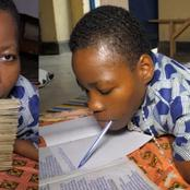 Painful Story Of Agatha, She Cannot Walk Or Sit But Can Write With Her Mouth (Photos)