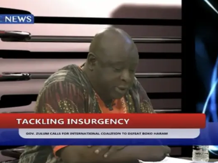 War Against Insurgency: Babajide Otitoju agrees with Zulums submissions