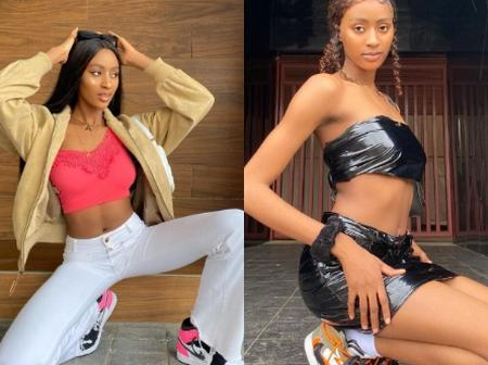 Omah lay's sister known as Adamma looks so beautiful in these photos of hers