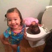 Don't leave them alone! Checkout These 17 Pictures Why You Shouldn't Leave Your Child Alone