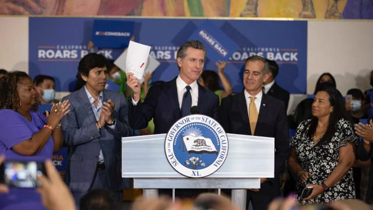 What's the new California dream? That any of us, regardless of qualifications, can be governor