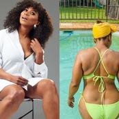 See Penny Lebyane's pictures that got people talking on social media.