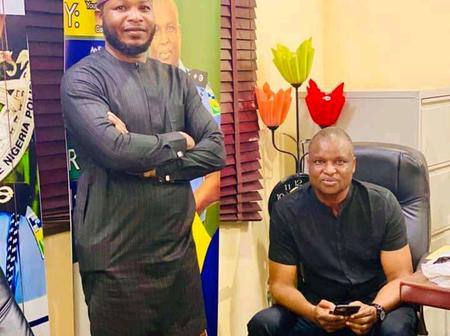 DCP Abba Kyari Shares Lovely Photos Of Himself And His Younger Brother