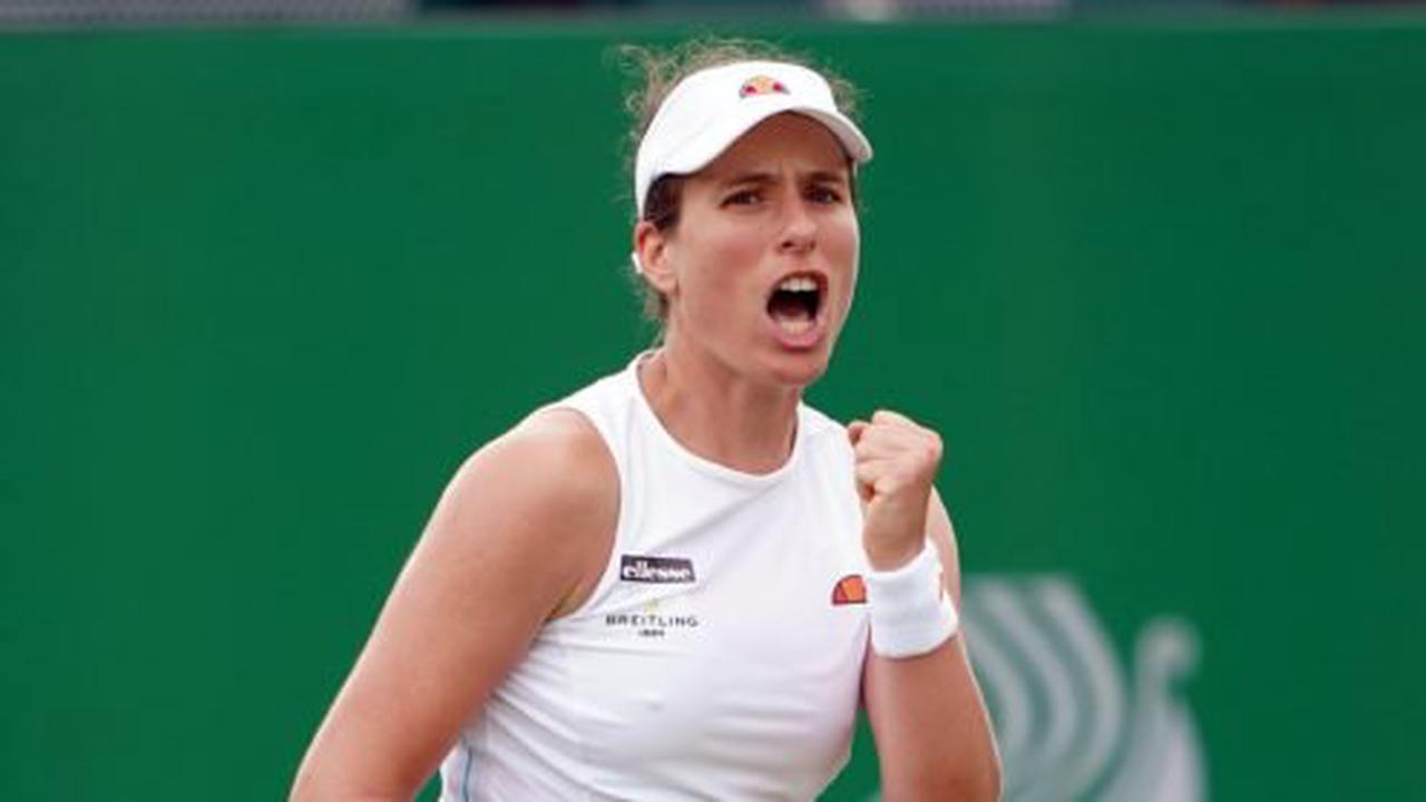 Johanna Konta claims straight-sets victory to reach Viking Open semi-finals  - Opera News