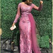 Beautiful Onion Colour Asoebi Outfits