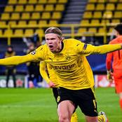 Erling Haaland Breaks Silence After His Team Was Eliminated In UCL Quarter Final By City