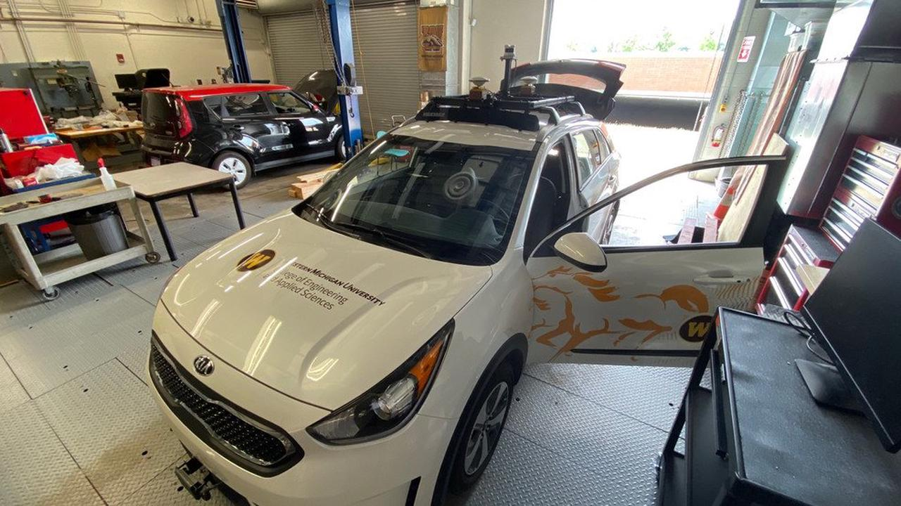 Research project at WMU aims to help autonomous vehicles drive in snow