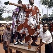 See Throwback Photo Of Nnamdi Azikiwe With His Successor Michael Okpara