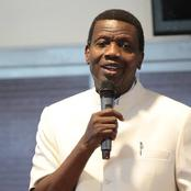 See What Pastor Adeboye Said That Should Motivate You