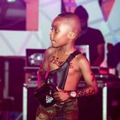 Meet Lil Richie the 7 years old wealthy musician with several body tattoos