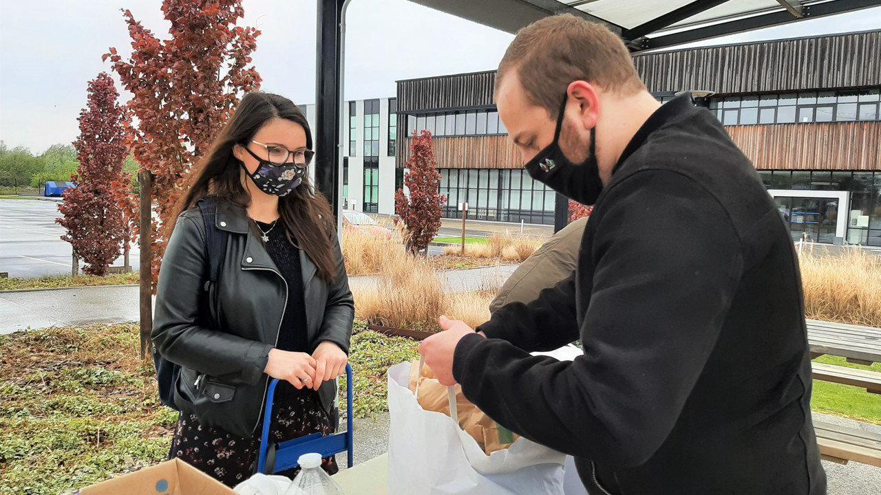 Dans la métropole de Lille, 1 500 paniers alimentaires distribués aux étudiants, par des associations