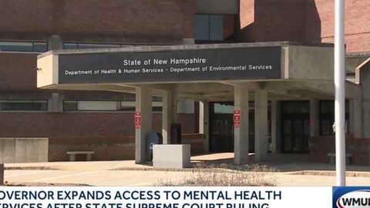 Gov. Sununu expands access to mental health services after State Supreme Court ruling