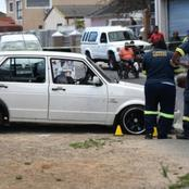 Family shot by gangs while sitting in a white VW in Elsies River