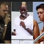 The Chain-Smokers: Top Six (6) Caught Smoking Footballers Of All Time. (Details Below)