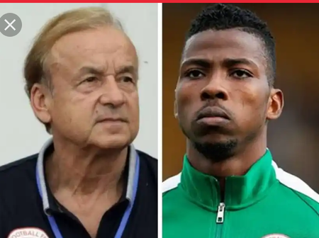 Gernot Rohr confirms Kelechi Iheanacho and Henry Onyekuru are included in the squad to face Lesotho.
