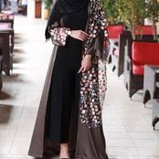 Today is Friday, Checkout Fashionable Abaya for Stylish Muslim Ladies