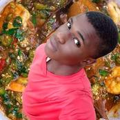 Wonder Shall Never End, See The Photoshop Of A Guy Inside A Soup That Got People Talking