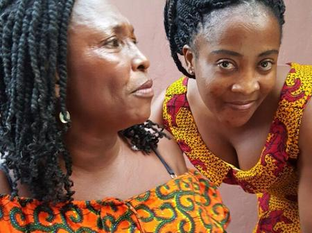 Who Remembers The Beautiful Actress Beside Kyeiwaa - See Her Recent Looks Now