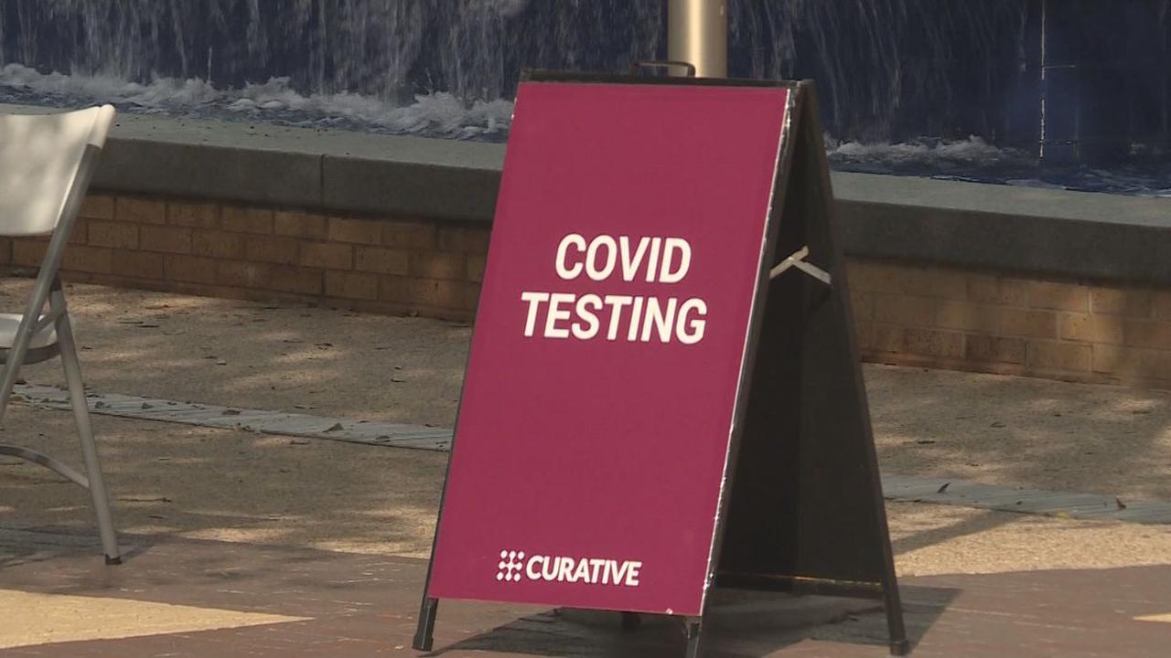 COVID-19 testing canceled due to inclement weather