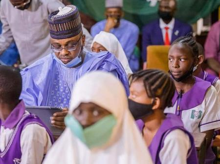 Sheikh Pantami Distributes Brand New Tablet Devices To Secondary School Students