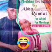 See a wedding invitation that got people talking: Photos
