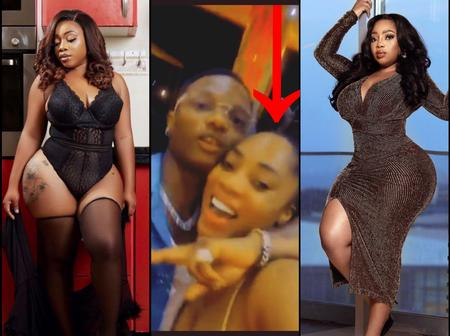Photos Of The Light-Skinned Curvy Lady Who Was Seen Spotted With