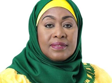 Meet The New President Of Tanzania, Her Excellency Samia Hassan Suluhu [Photo]